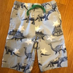 Mini Boden Bottoms - Mini Boden Dinosaur Shorts size 6